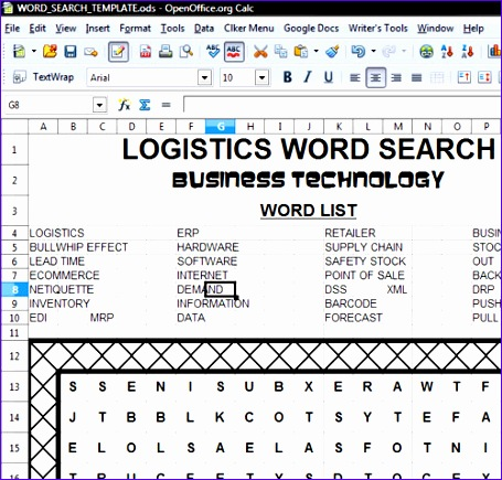 find a word template openoffice calc template 455435
