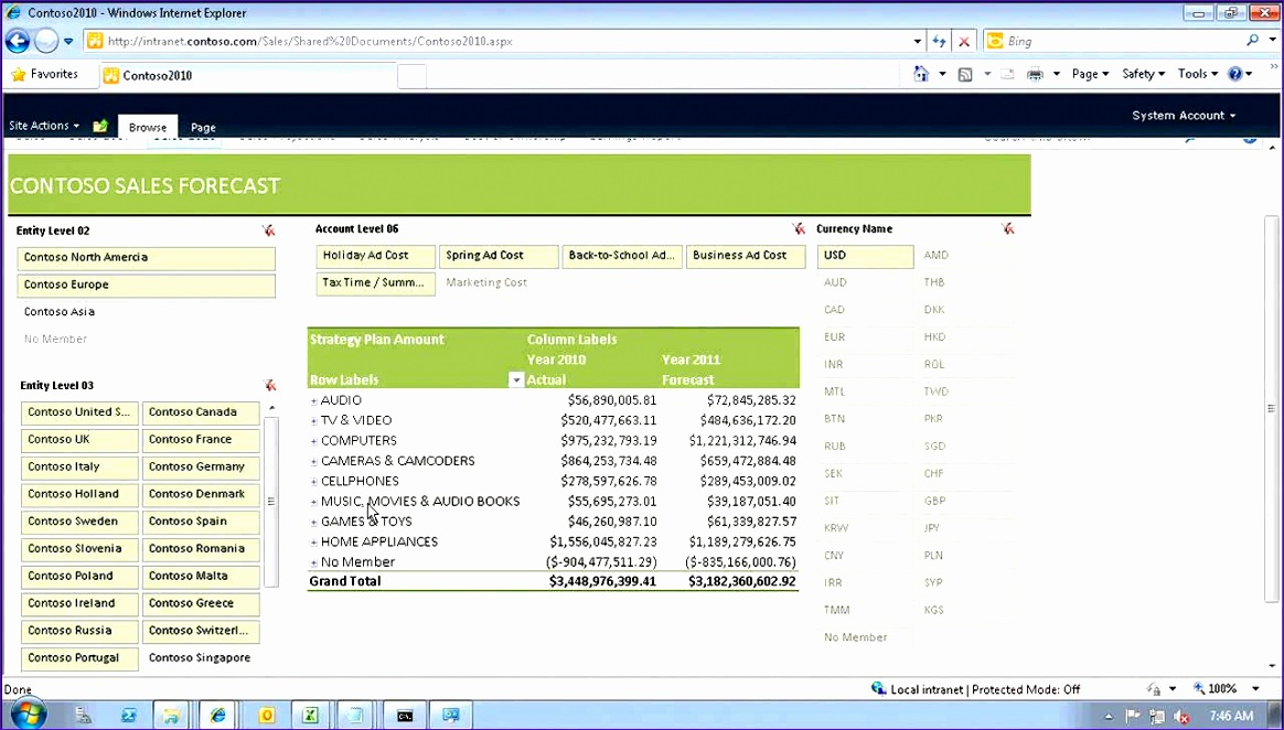 9 excel 2010 project management template