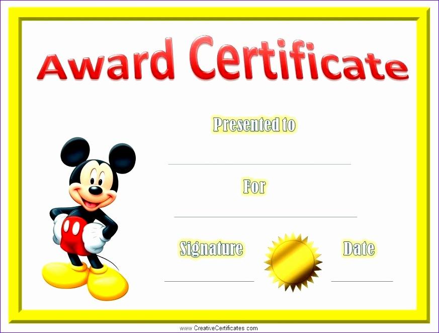kids award certificate template 873662