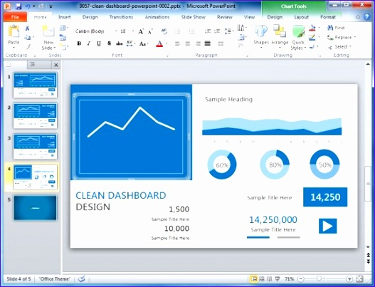 high quality charts dashboard powerpoint templates for presentations 527403