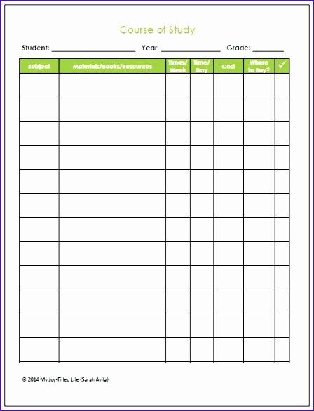 homeschooling planning resources free weekly assignment printable