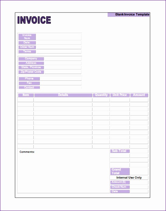 printable invoice template 1743 546690