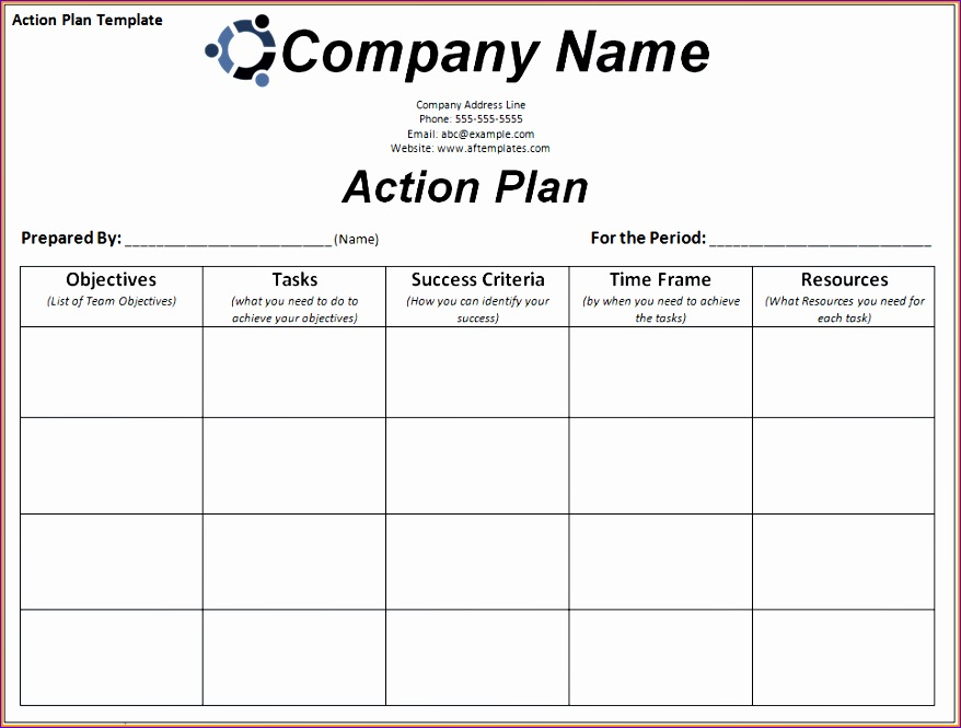 9 corrective action plan template excel 878665