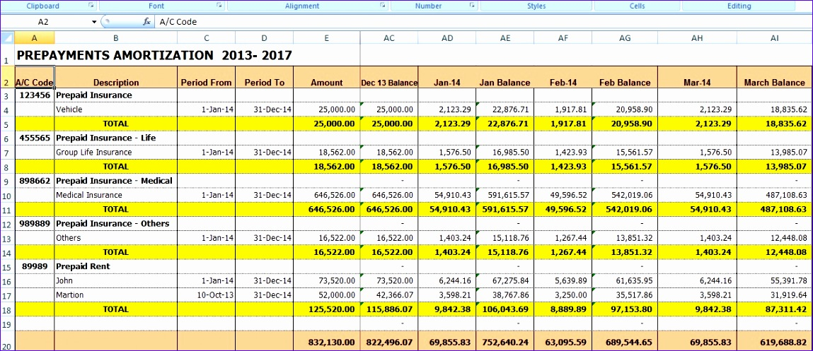 Excel Amortization Template Kdcds Fresh Excel for All Prepaid ...