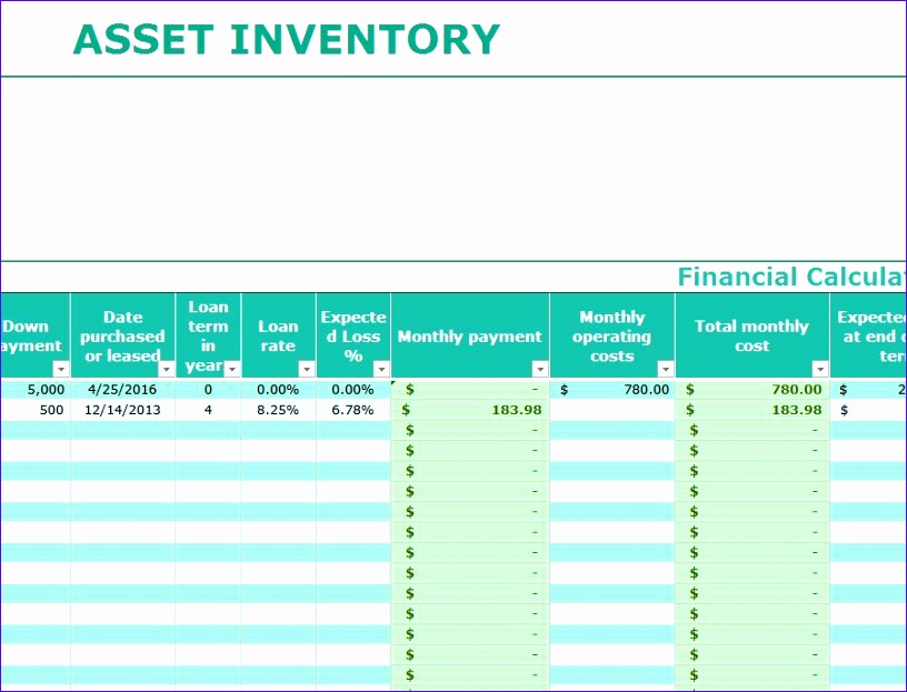 asset inventory template 816623