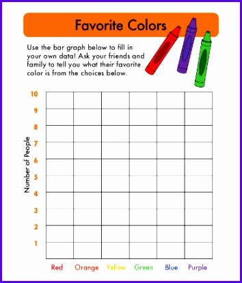 Bar Graph Template For Kindergarten