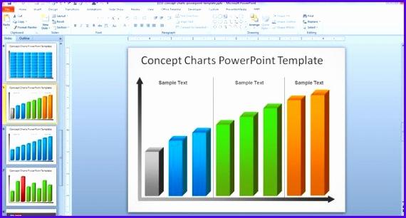 Powerpoint Chart Templates Free Bolducfo 570306