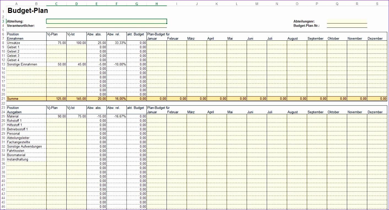 12 Excel Budget Template 2010 - ExcelTemplates - ExcelTemplates