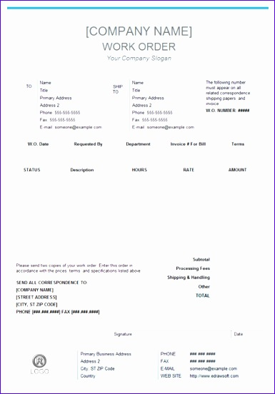 business form 385552