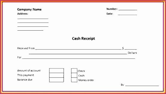 6 money receipt