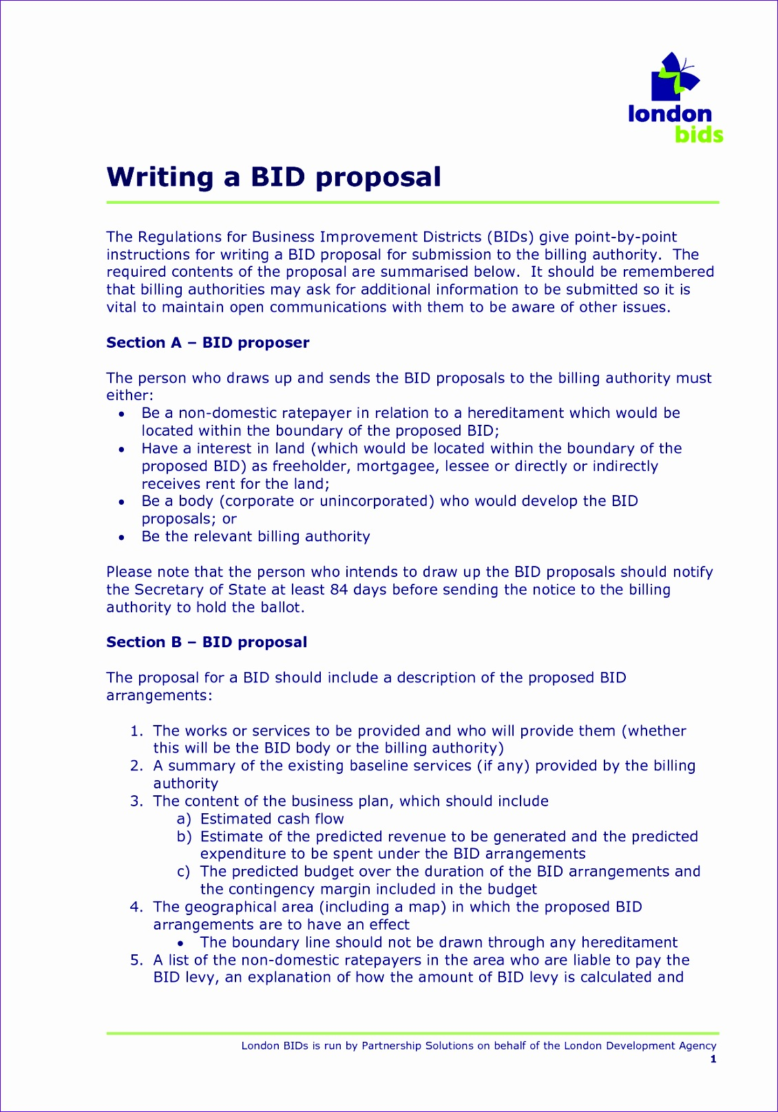 5 sample bid proposal 11301615