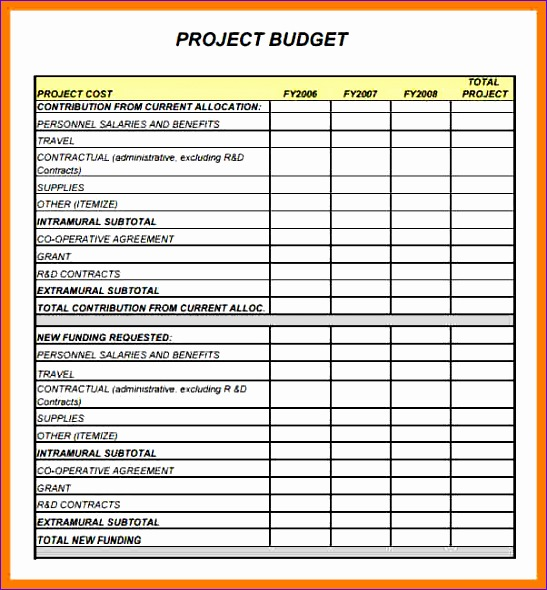 6 project bud template 547590