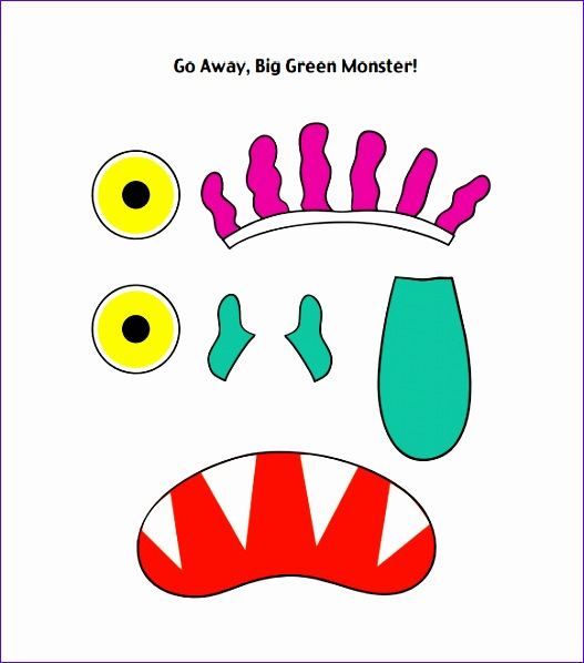 monster template 527598