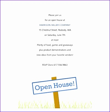 business open house invitation template 386391