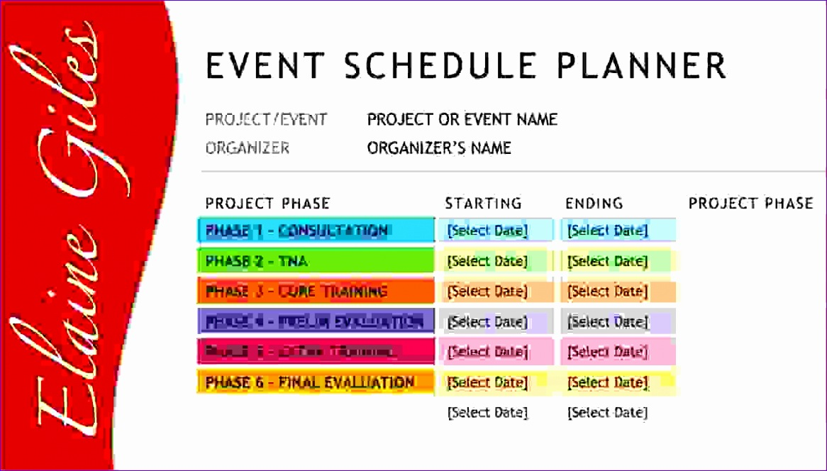 4 event schedule template 1166664