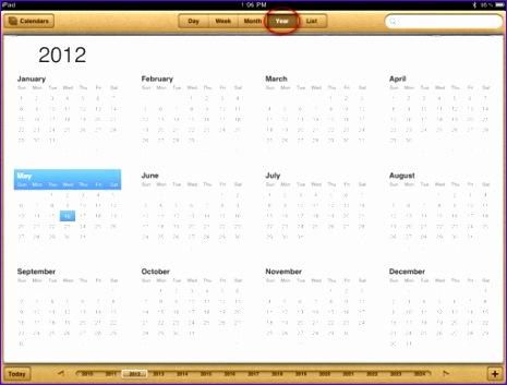 2012 12 month calendar 465353