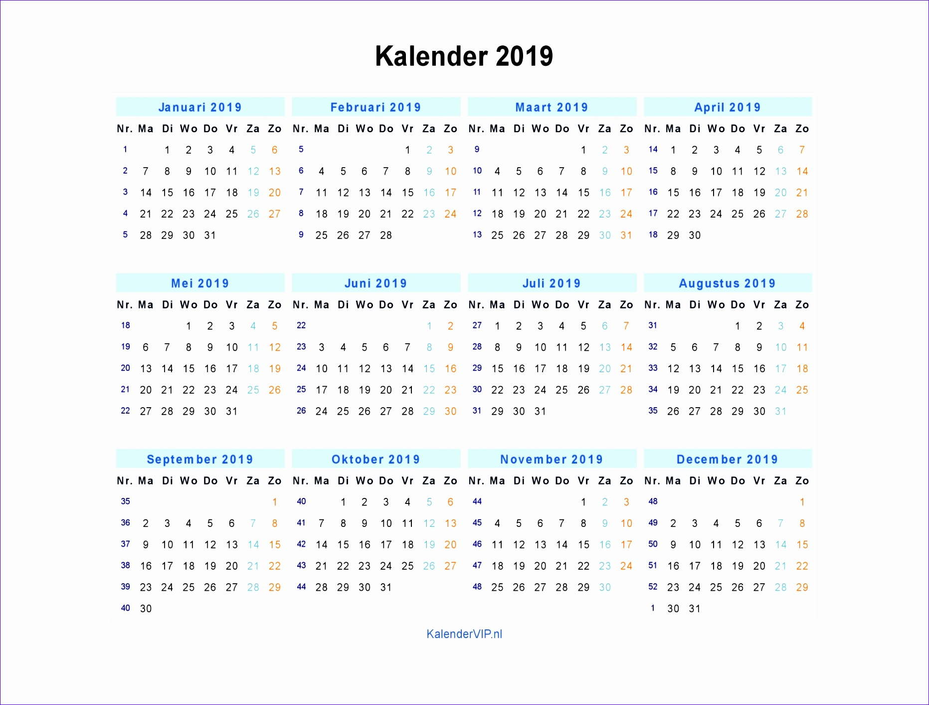 Excel Calendar 2018 Template Sbezv Best Of Kalender 2019 ...