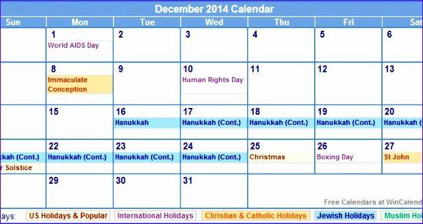 december 2014 calendar printable with 618328
