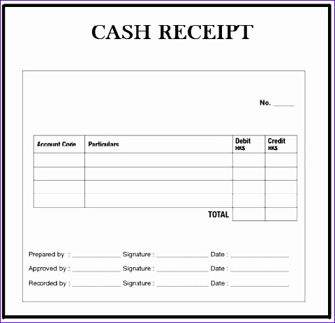Excel Cash Receipt Template Umeah Unique Update Cash Recepit 37 Documents 528504