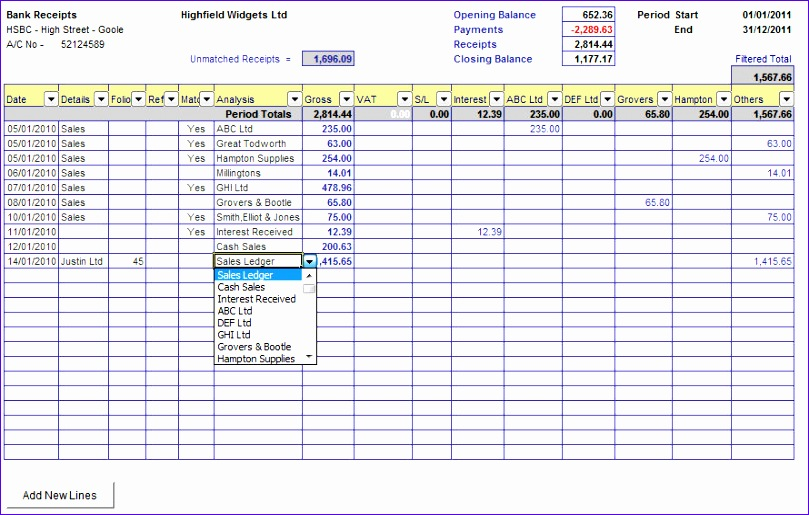 cash book with bank reconciliation p 24 809515