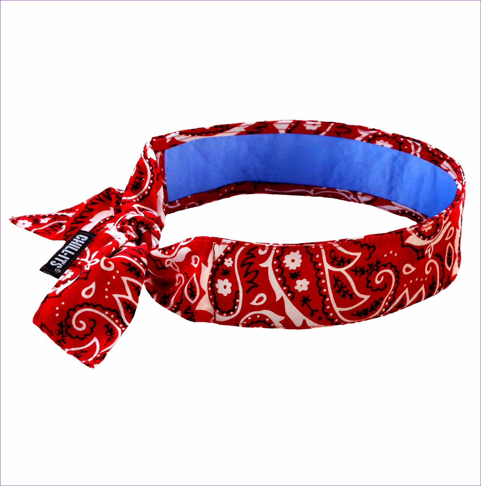 chill its 6700ct evaporative cooling bandana cooling towel tie