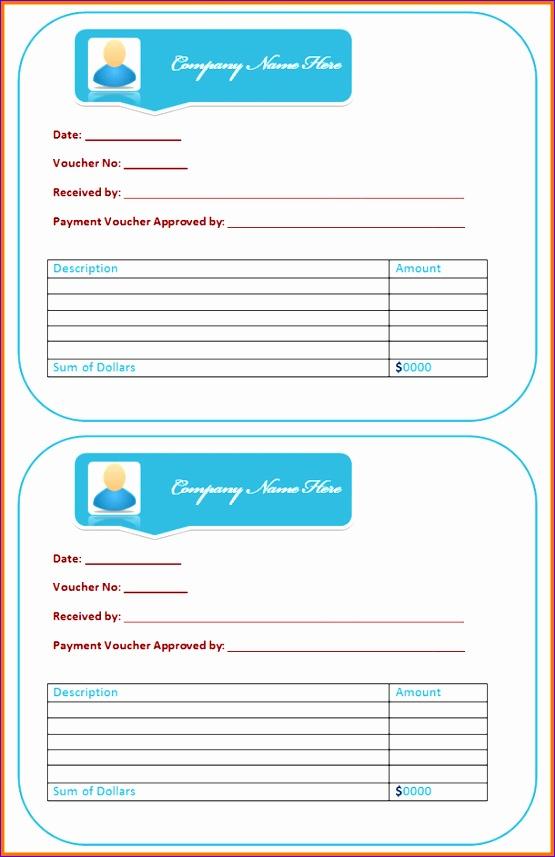 payment voucher template 555857