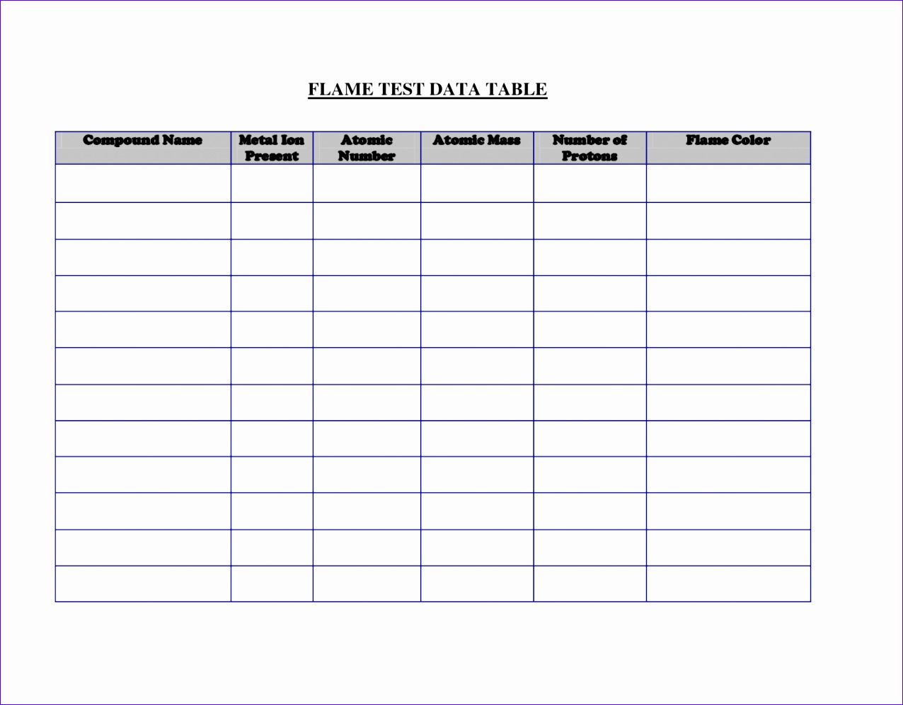 blank table chart maker 1276997