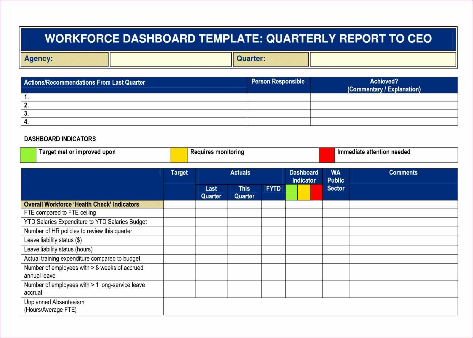 8 quarterly report template 15971142