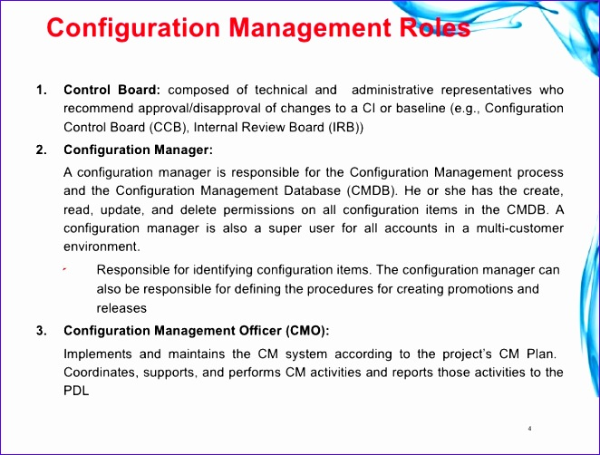 change and configuration management plan template 662502
