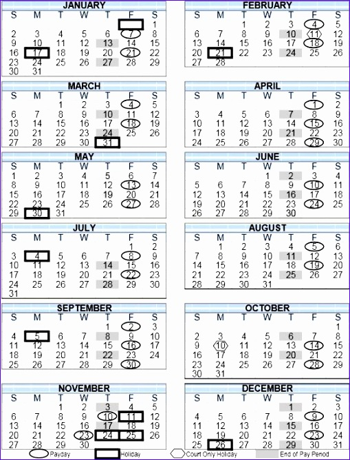 2016 calendar adp 509668