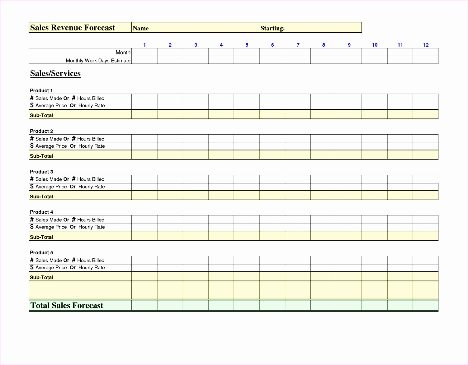 6 event schedule template 15031174