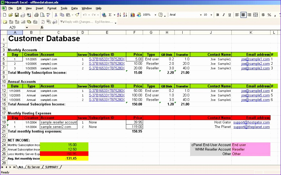 Getting Data between Excel and SQL Server using ODBC