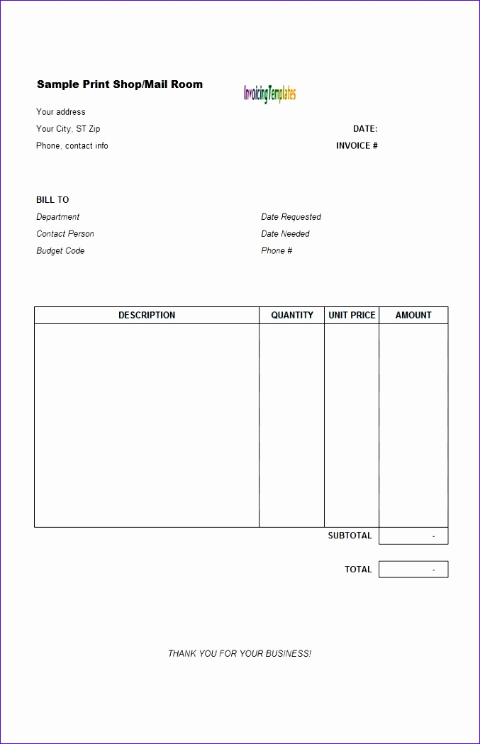 invoicing guidelines for vendors general vendor invoice template 3