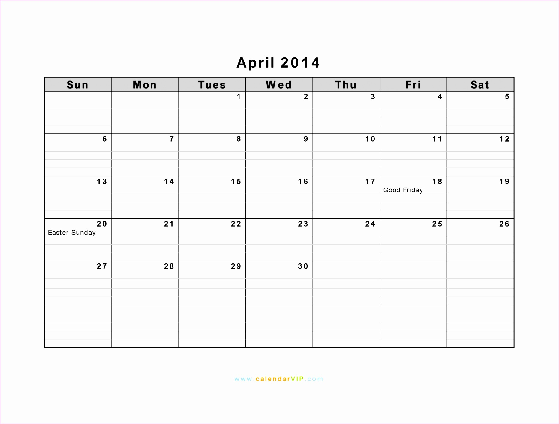 Excel Daily Calendar Template Btcts Inspirational April 2014 Calendar Blank Printable Calendar Template In 20481536