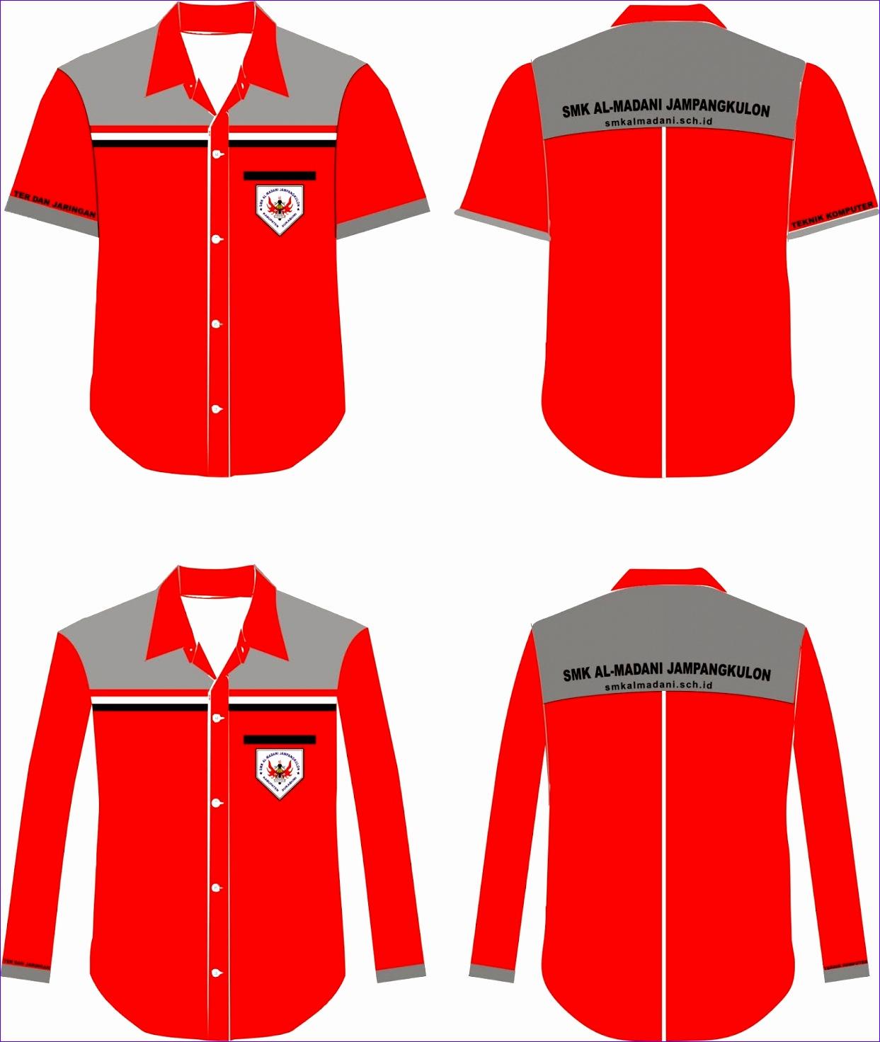 contoh desain baju dinas 12431472