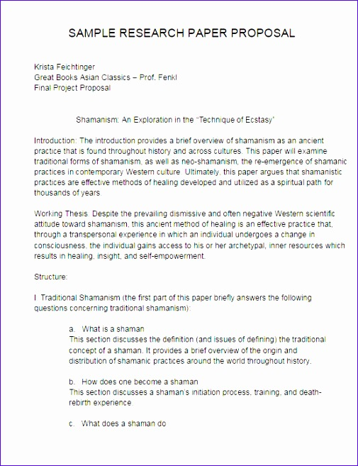 business proposal template 505657