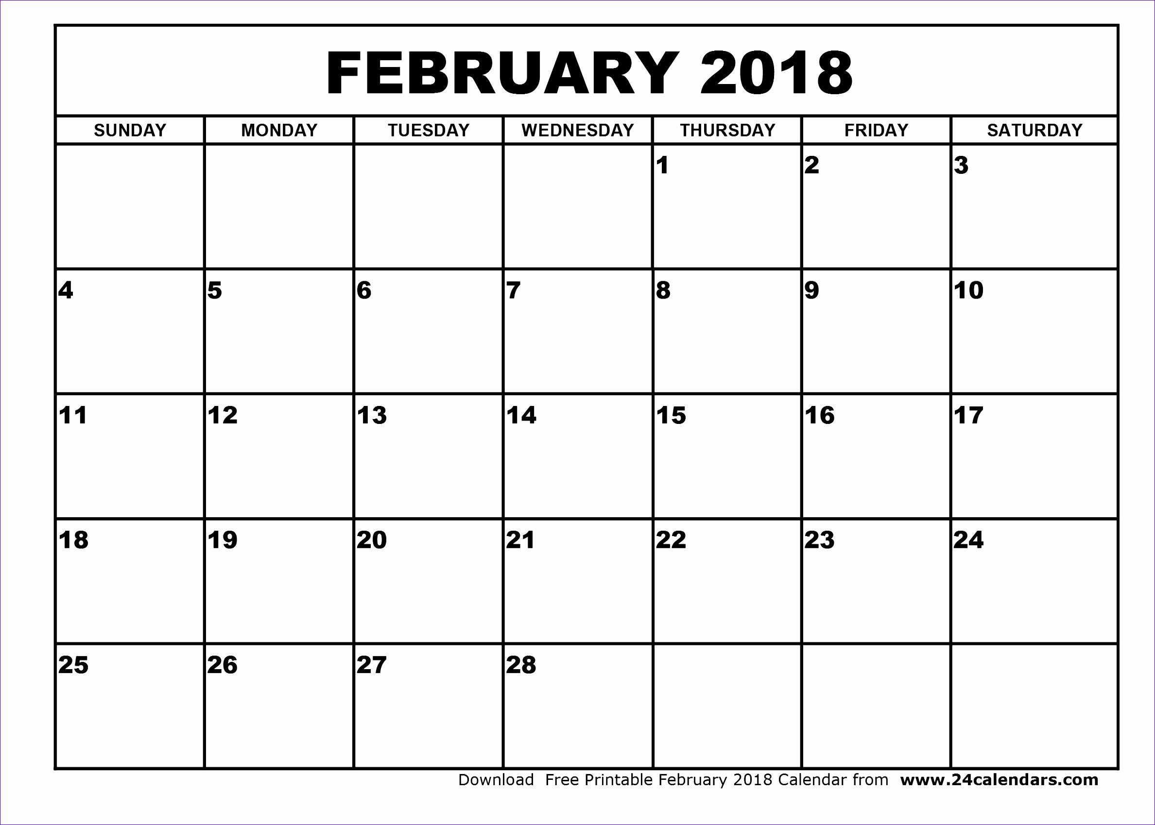 february 2018 printable calendar 149