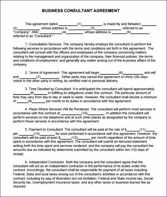 Excel Engineering Templates Neial Unique Consulting Agreement 5 Free