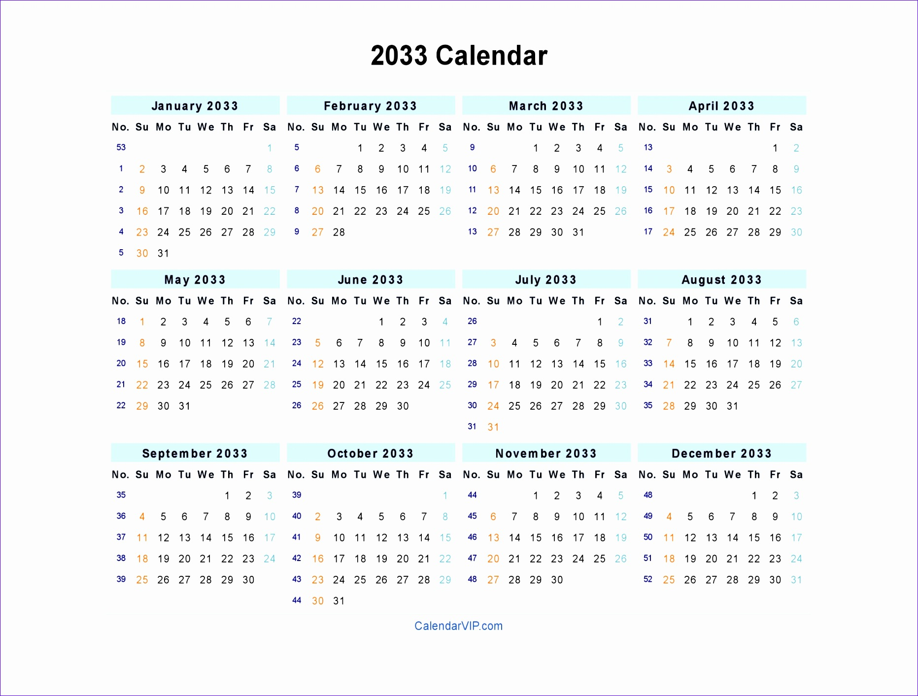 Excel File Template Ddepo Lovely 2033 Calendar Blank Printable Calendar Template In Pdf 20481536