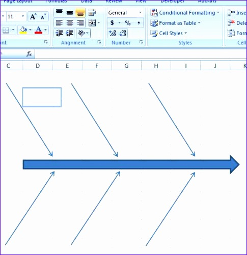 fishbone diagram template 485501