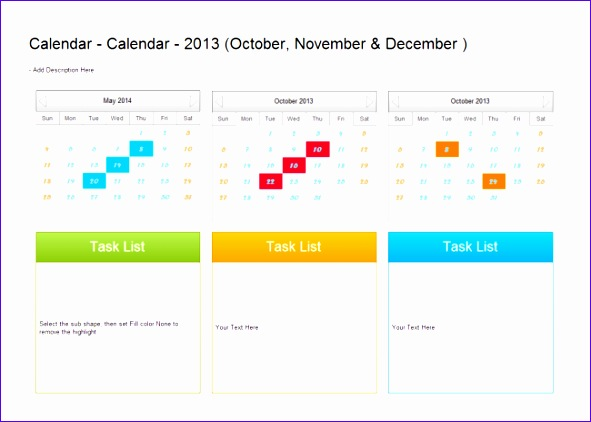 template quarter plan calendar 591422