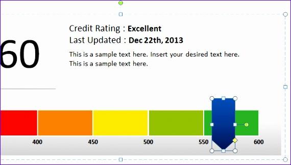 creative score meter template powerpoint 570324