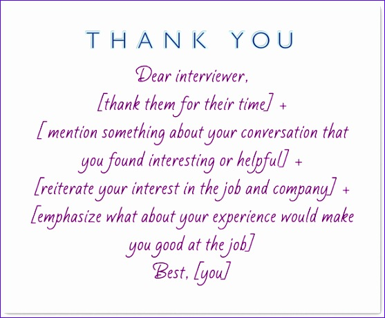 3 how to thank someone for an interview 557460