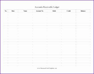 Accounts Receivable Ledger 330258