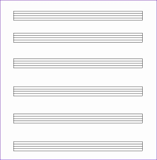 music paper template 546557