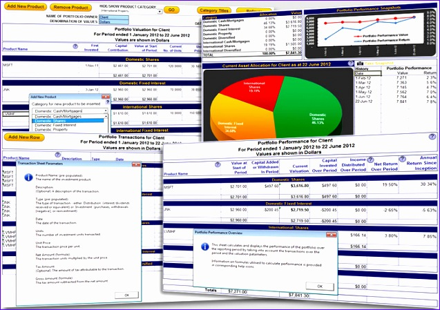 excel portfolio tracking enftonic