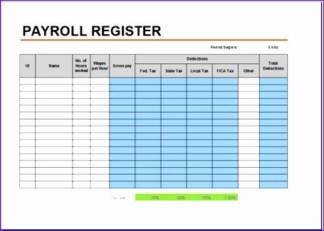 payroll register template 455325