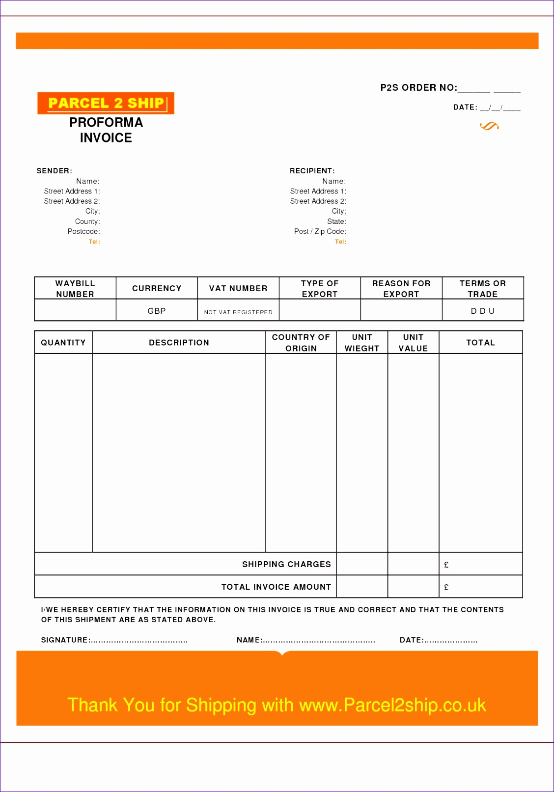 proforma invoice template uk 2816 11281613