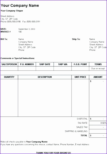 tax invoice template excel 1257 368529