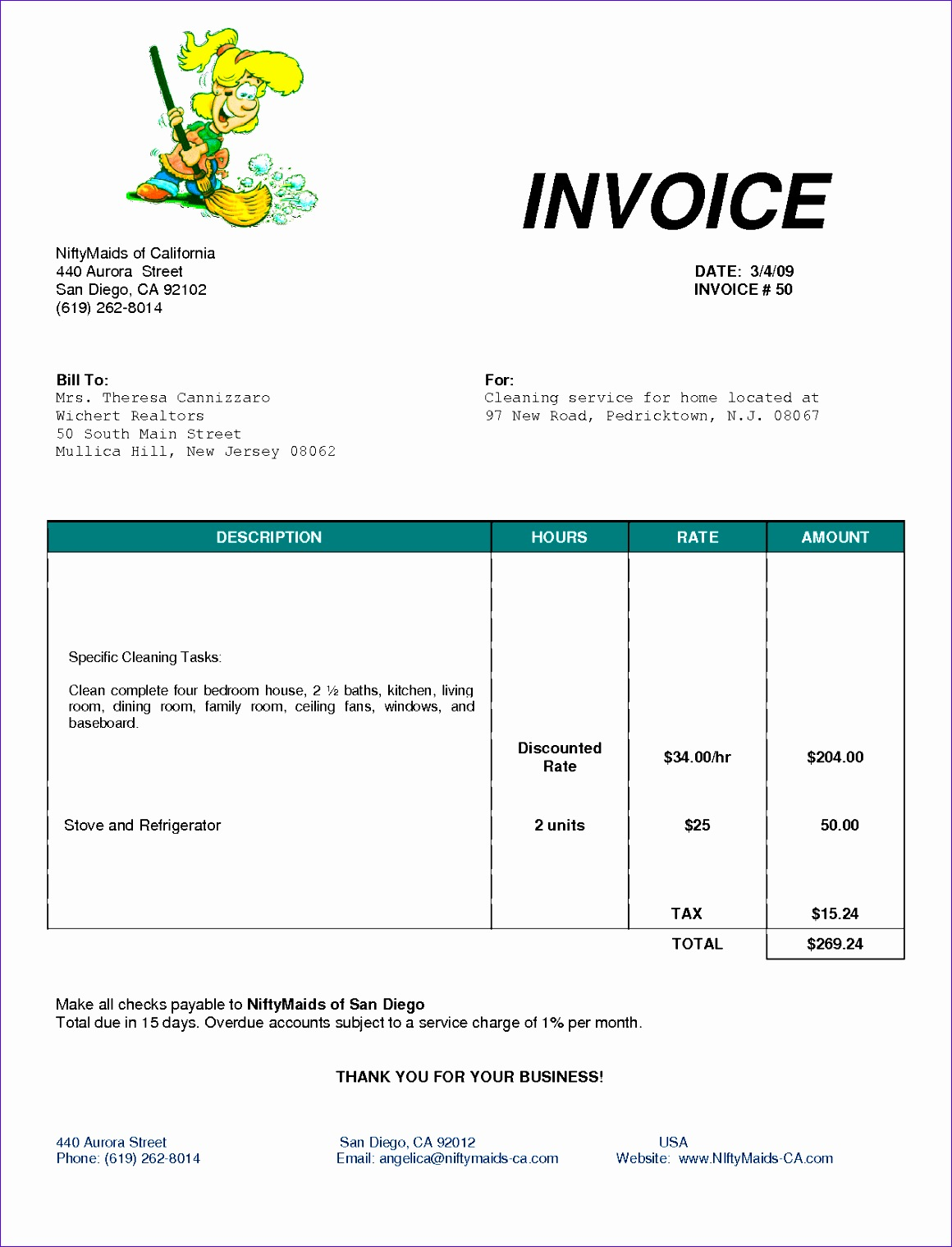 cleaning invoice template uk 1222 11601518